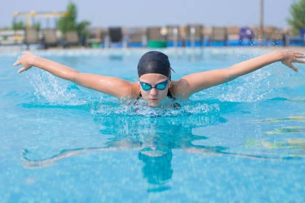 recovery swim workout